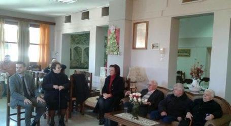 Στο Γηροκομείο η Μαρίνα Χρυσοβελώνη