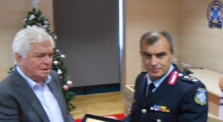 Τιμήθηκε για την προσφορά του στην τοπική Αστυνομία ο Νικήτας Πρίντζος