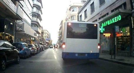 Αστικό λεωφορείο χωρίς πινακίδες!
