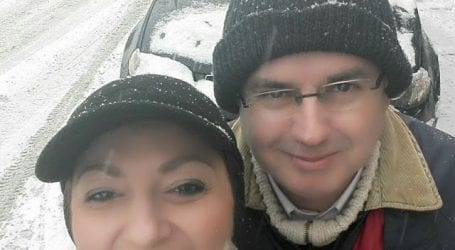 Απόλαυσαν το χιόνι…