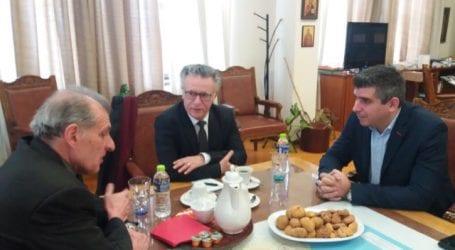 Επίσκεψη του Γενικού Πρόξενου της Γαλλίας στη Θεσσαλονίκη στον Δήμο Βόλου