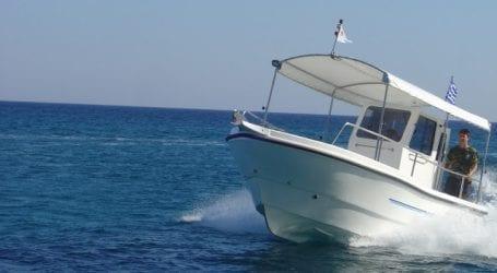 Προσέκρουσε στο «κορδόνι» του Βόλου αλιευτικό σκάφος
