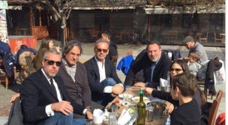 Στον Βόλο για την κηδεία της μητέρας του ο Πέτρος Κωστόπουλος