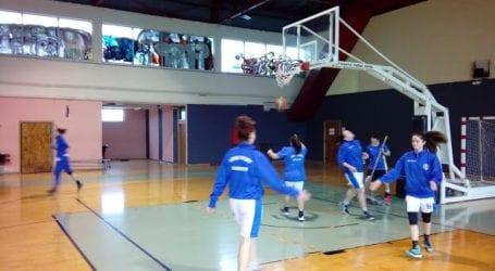 Διαστημική εμφάνιση της γυναικείας ομάδας μπάσκετ του Γ.Σ.Β. «Η ΝΙΚΗ»