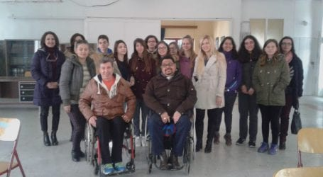 Ο «Ιππόκαμπος» επισκέφθηκε το 1ο γυμνάσιο Ν. Ιωνίας