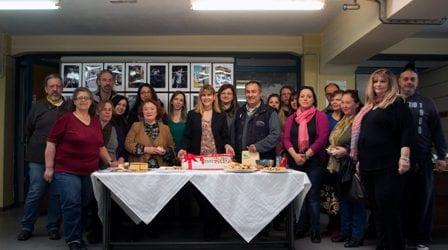To IEK Δήμου Βόλου έκοψε την πίτα του (εικόνες)
