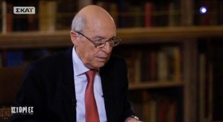 Ο Κώστας Σημίτης στην πρώτη του συνέντευξη μετά την πρωθυπουργία του