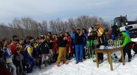 Με επιτυχία διοργανώθηκαν αγώνες σκι στο Πήλιο