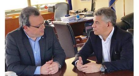 Συνάντηση Σ. Φάμελλου και Κ. Αγοραστού για την επεξεργασία των αστικών λυμάτων