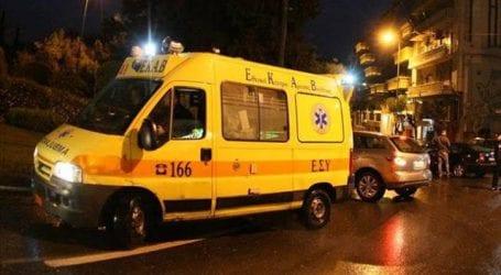 Τροχαίο ατύχημα με δύο τραυματίες στο κέντρο του Βόλου