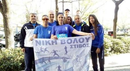 Επιτυχίες της Νίκης Βόλου στο RUN GREECE στη Λάρισα