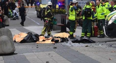 Επίθεση με φορτηγό στο κέντρο της Στοκχόλμης (εικόνες)