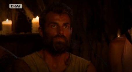 Survivor: Αποχώρησε ο βολιώτης Στέλιος Χανταμπάκης!