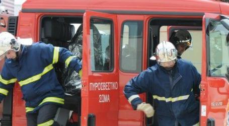 Μοτοσυκλέτα τυλίχθηκε στις φλόγες στη Νέα Ιωνία