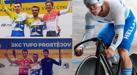 Με 3 μετάλλια επιστρέφει από την Τσεχία, ο Bολιώτης Χρήστος Βολικάκης