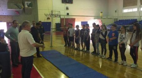 Μαθητές της Περιφέρειας γνωρίζουν μη διαδεδομένα ολυμπιακά αθλήματα