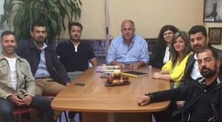 Συνάντηση Νασίκα με το νέο ΔΣ του Συλλόγου Περιβολιοτών Μαγνησίας