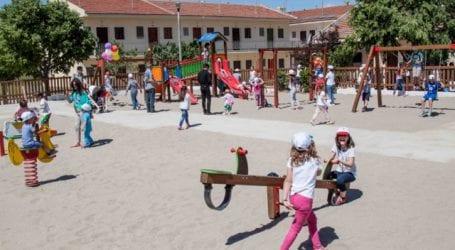 Νέα παιδική χαρά στο 304 ΠΕΒ στο Βελεστίνο