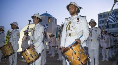 Μουσική παράσταση  από τη Μπάντα του Πολεμικού Ναυτικού  αφιερωμένη στο Μιούζικαλ στον Βόλο