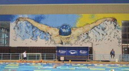 Συνεχίζονται οι τοιχογραφίες σε Κολυμβητήριο και ΟΣΕ