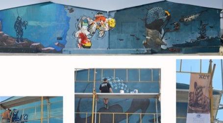 Δημόσιες τοιχογραφίες στον Βόλο
