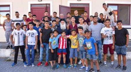 Επίσκεψη Ιγνάτιου στην Ακαδημία Ποδοσφαίρου «ΔΗΜΗΤΡΙΑΣ»
