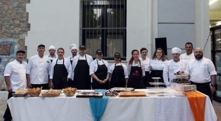 Εντυπωσίασαν οι σπουδαστές του ΔΙΕΚ Βόλου στην τελετή αποφοίτησης
