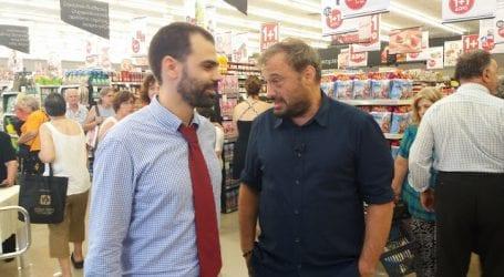 Στον Βόλο ο Φερεντίνος για εγκαίνια νέου σούπερ μάρκετ (εικόνες)