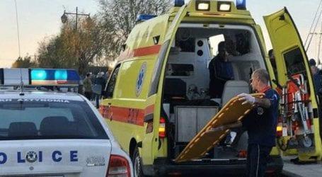 Τροχαίο ατύχημα στην οδό Ζάχου
