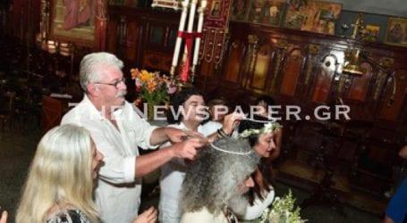 Παντρεύτηκε στο Πήλιο ο Γιάννης Γιοκαρίνης (εικόνες)