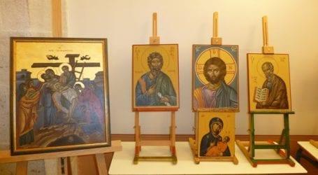 Έκθεση βυζαντινής αγιογραφίας στη Μηλίνα