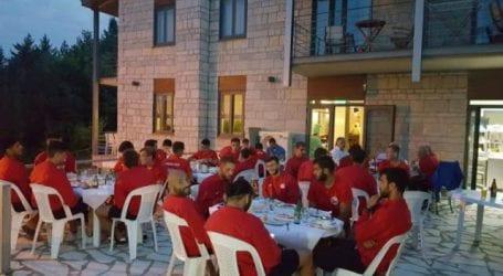 Βραδιά μπάρμπεκιου για τον Ολυμπιακό Βόλου
