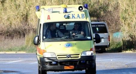 Ελαφρύς τραυματισμός γυναίκας σε τροχαίο στον Αλμυρό
