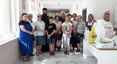 Επίσκεψη Παλαιοημερολογητών στο Ορφανοτροφείο Βόλου