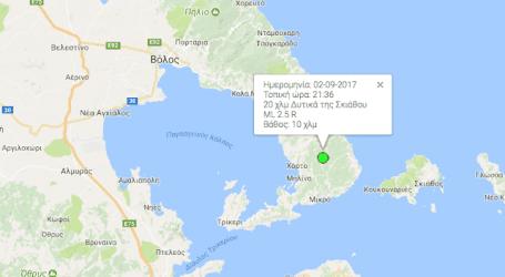Σεισμός στο Προμύρι Πηλίου (χάρτης)