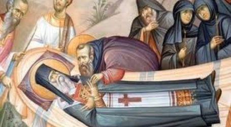 Ανακομιδή των Λειψάνων του Αγίου Νεκταρίου στον Βόλο
