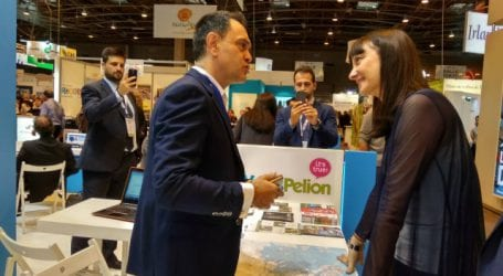 Στην έκθεση Top Resa 2017, στο Παρίσι παρουσιάστηκε ο προορισμός Volos Pelion