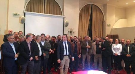 Το ψηφοδέλτιό του για το Επιμελητήριο Μαγνησίας παρουσίασε ο Τρ. Πλαστάρας (εικόνα)