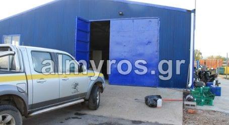 Διάρρηξη στο αμαξοστάσιο του Δήμου Αλμυρού