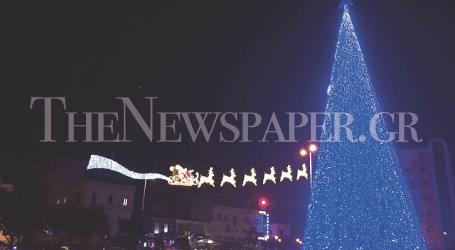 Αυτός είναι ο Χριστουγεννιάτικος Βόλος – Δείτε εικόνα από την πρόβα