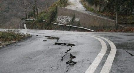 Αποκατάσταση ζημιών στο οδικό δίκτυο της Ζαγοράς