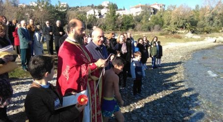 Θεοφάνεια και στον Σωρό με ξεχωριστή τελετή αγιασμού των υδάτων (εικόνες)