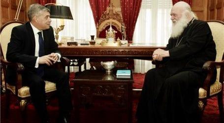 Με τον Αρχιεπίσκοπο συναντήθηκε ο Κώστας Αγοραστός