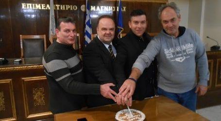 Η Ένωση Λειτουργών Γραφείων Κηδειών Ελλάδος έκοψε την Πρωτοχρονιάτικη πίτα