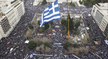 140.000 στο συλλαλητήριο για τη Μακεδονία – Μήνυμα στην κυβέρνηση (εικόνες)