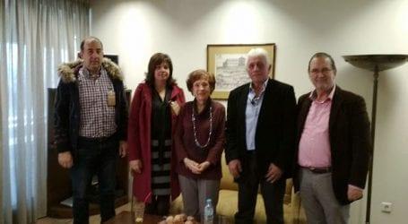 ΖΑΓΟΡΙΝ: Συνάντηση με την πρώτη γυναίκα Πρόεδρο στην ιστορία του Ελληνικού Κοινοβουλίου