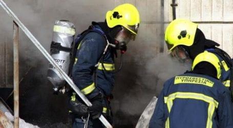 Φωτιά στη Νεάπολη – Ένας τραυματίας