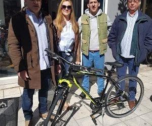 Παρέδωσαν το ποδήλατο οι ηλεκτρολόγοι της Μαγνησίας