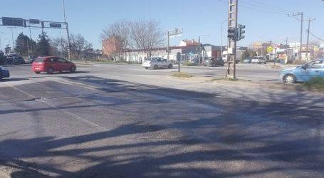 Θανατηφόρο τροχαίο στην οδό Βόλου (εικόνες)