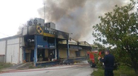 Ένας νεκρός από την μεγάλη φωτιά στα Κ. Λεχώνια